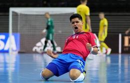 Costa Rica 6-2 Lithuania   Chủ nhà FIFA Futsal World Cup Lithuania 2021™ chia tay sau vòng bảng