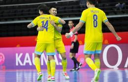 ĐT Futsal Kazakhstan 7-0 ĐT Thái Lan   Thắng thuyết phục, Kazakhstan ghi tên mình vào tứ kết