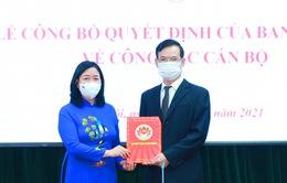 Đồng chí Triệu Tài Vinh giữ chức Phó Trưởng Ban Dân vận Trung ương