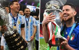 Giao hữu: ĐT Italia sẽ so tài với ĐT Argentina hè 2022