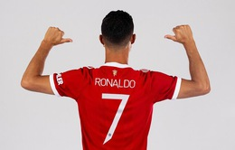Cristiano Ronaldo sẽ mặc áo số 7 ở Manchester United