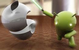 """Hệ điều hành Android """"nuốt chửng"""" iOS, Symbian"""