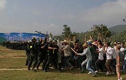 Diễn tập phòng, chống khủng bố tại Điện Biên