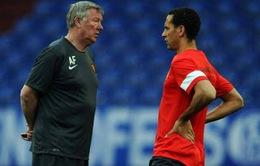 Trước trận M.U – Braga: Sir Alex đày Ferdinand trên ghế dự bị