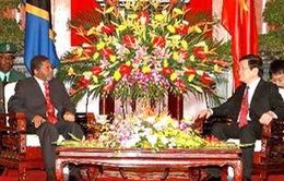 Việt Nam-Tanzania tăng cường hợp tác