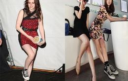 Mix váy và giầy thể thao: Đối lập đầy cuốn hút