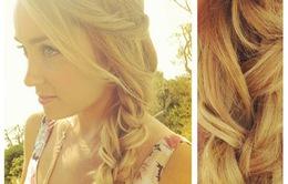 3 kiểu tết tóc lãng mạn cho mùa thu