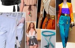 Các kiểu thắt dây lưng đơn giản và đẹp