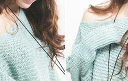 Áo len xinh đón gió thu đông