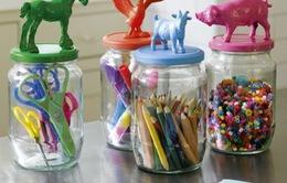 Ý tưởng độc đáo cất giữ đồ chơi cho bé tại nhà