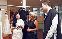 Lý Nhã Kỳ tiếp xúc nhiều thương hiệu thời trang lớn ở Paris