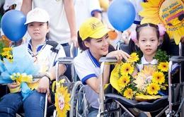 Hoa hậu Trần Thị Quỳnh đi bộ vì người khuyết tật Việt Nam
