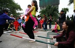 Hào hứng với bữa tiệc trò chơi dân gian giữa lòng thủ đô