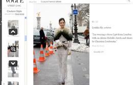 Lý Nhã Kỳ được tạp chí Vogue của Nhật ví như công nương