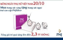 Trang sức PNJ - quà tặng sang cho người phụ nữ yêu thương