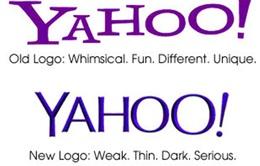 Yahoo: Đổi logo, chẳng đổi được thời thế