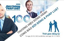 """Viettel  chính thức tham gia """"100 Thương hiệu đồng hành"""" cùng ĐS&PL"""
