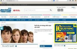 Báo ĐS&PL (bản online) tìm đại lý phân phối dịch vụ truyền thông