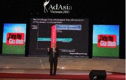 Những bài học vàng về Marketing từ AdAsia 2013