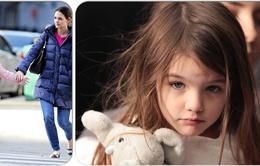 Con gái Tom Cruise bị gãy tay