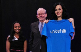 Katy Perry nhận vai trò đại sứ thiện chí của UNICEF
