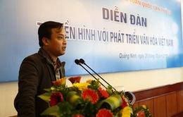 """Sôi nổi diễn đàn """"Truyền hình với phát triển văn hóa Việt Nam"""""""