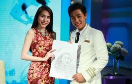 """MC Nguyên Khang """"khui"""" bí mật của Thủy Tiên trên chuyên cơ cuối năm 2013"""