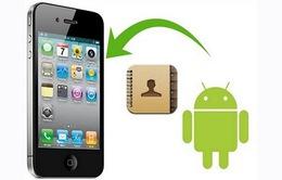 Đồng bộ hóa dữ liệu từ Android sang iOS - Thật đơn giản