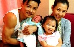 Chồng Thái Thiếu Phân khoe công chúa mới chào đời