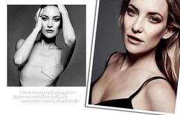Kate Hudson gầy xơ xác trên Elle