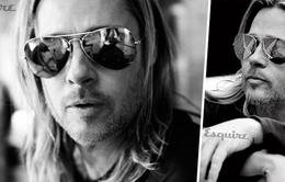 Brad Pitt khoe vẻ quyến rũ trên Esquire