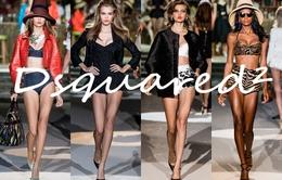Dsquared² khuấy động sàn diễn thời trang Milan