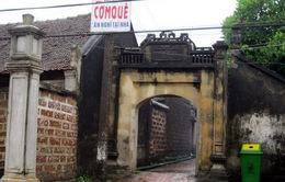 Dân làng cổ Đường Lâm lại xin trả di tích