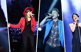 4 gương mặt của đêm chung kết Giọng hát Việt