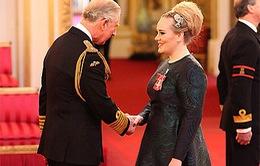 Adele nhận huy chương dành cho công dân ưu tú