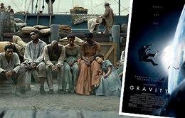 Quả cầu vàng 2014: Gravity sẽ vượt mặt 12 Years a Slave?
