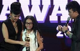 Phương Mỹ Chi đoạt giải Nghệ sĩ mới được yêu thích