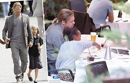 Bảo vệ các con, Brad Pitt chấp nhận đi đường vòng