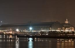 Thủ đô Amsterdam về đêm