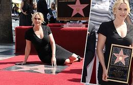 Kate Winslet đã có ngôi sao trên Đại lộ danh vọng