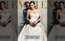 """Lên bìa của Vogue, Kim """"sướng phát điên"""""""