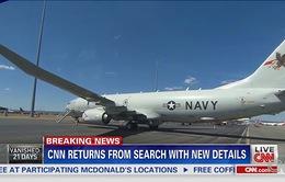 7 con tàu và 8 máy bay vẫn tiếp tục tìm kiếm MH370