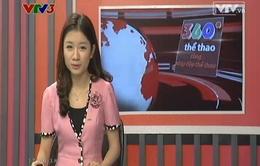 Bản tin 360 độ thể thao ngày 01/4/2014