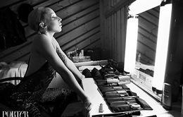 Lady Gaga ấn tượng trong đen và trắng