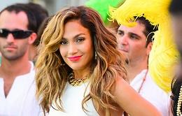 Jennifer Lopez vẫn trình diễn trong lễ khai mạc World Cup 2014