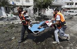 Những hình ảnh đau lòng từ ngày chủ nhật đẫm máu ở Gaza