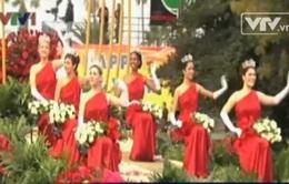 Rực rỡ lễ diễu hành hoa hồng đặc sắc ở Pasadena