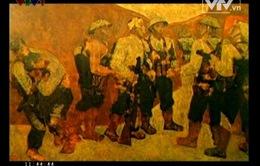 """Bức họa """"Kết nạp Đảng ở Điện Biên Phủ"""" trở thành bảo vật quốc gia"""