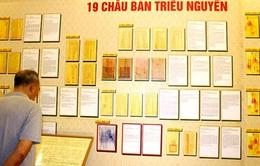 Trình hồ sơ Châu bản triều Nguyễn lên UNESCO