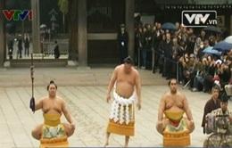 Độc đáo lễ hội Sumo đầu năm tại Nhật Bản